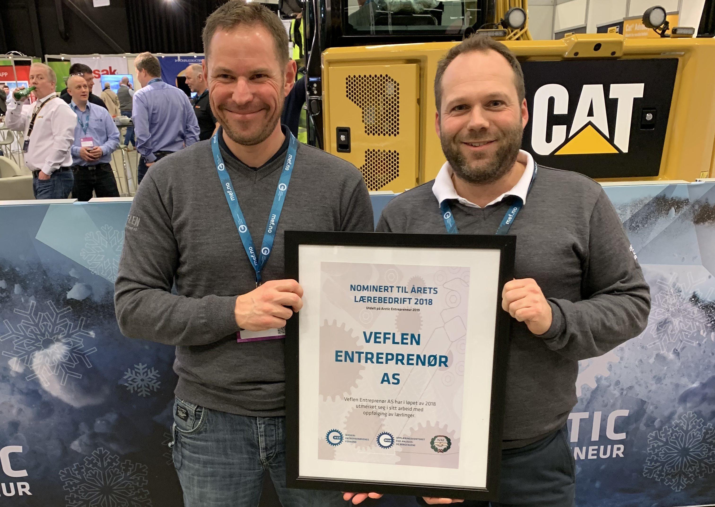 Kjetil og Hans Otto på Arctic Entrepreneur 2019
